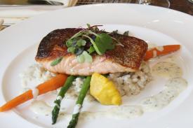 Buckley's Tavern Salmon Dish
