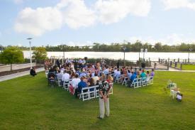 Wilmington Convention Center Lawn Wedding