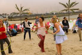 Beach House Hula Hoop
