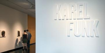 Karel Funk at the Winnipeg Art Gallery