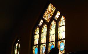 Windows from Shepherd of the City