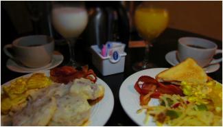 Mature Traveler Breakfast