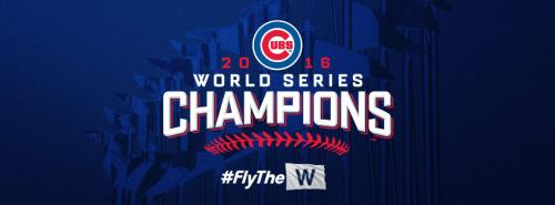 World Series Champions - Chicago Cubs