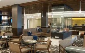 Updated Lobby of DoubleTree by Hilton Hotel Syracuse