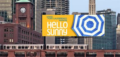 Defrost Chicago billboard