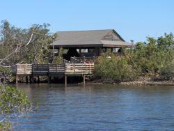 Nature pavilion at John U. Lloyd Beach State Park
