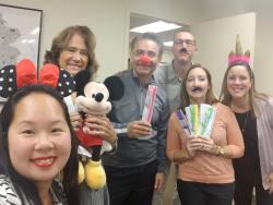 Hilton McLean Visits Team Fairfax