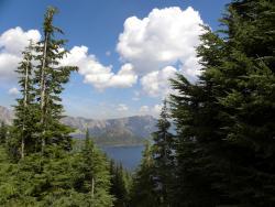 A peek at Crater Lake