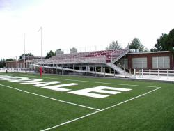 Football field endzone