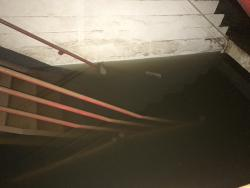 Harvey Flooded Stairs