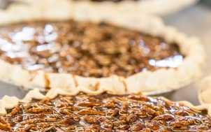 Midway Bakery Bourbon Chocolate Pecan Pie