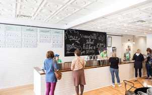 Counter at Salad Kitchen