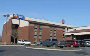 Comfort Inn; Lexington, KY