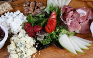 Cheese and meats at Parlay Social: Lexington, KY