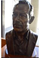 John Steinbeck bust