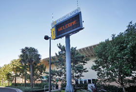 photo of Cruise Terminal 1 sign