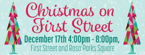 Christmas on First Street 2016