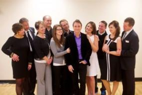 Company cast at Arena Dinner Theatre