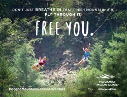 2017 Summer Marketing Campaign - Transit - Pocono Mountains Visitors Bureau