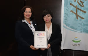 Guam-receives-Ctrip-award
