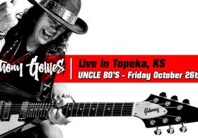 Anthony Gomes at Uncle Bo's