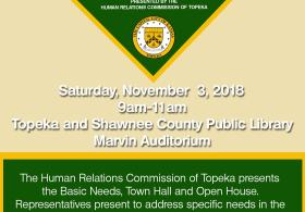Basic Needs Town Hall and Open House