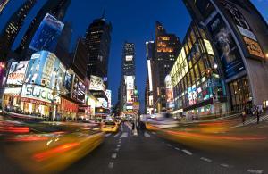 NYC timelapse photo