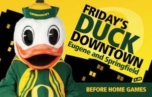 Don't miss out on discounts, games, entertainment, and more at Duck Downtown (fans of ALL teams welcome!)