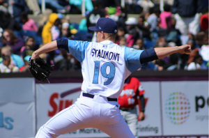 Josh Staumont, Wilmington Blue Rocks Pitcher