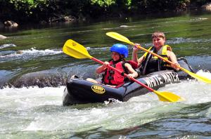 Middle Yough Whitewater Rafting