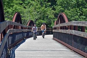 Ohiopyle Bridge Great Allegheny Passage