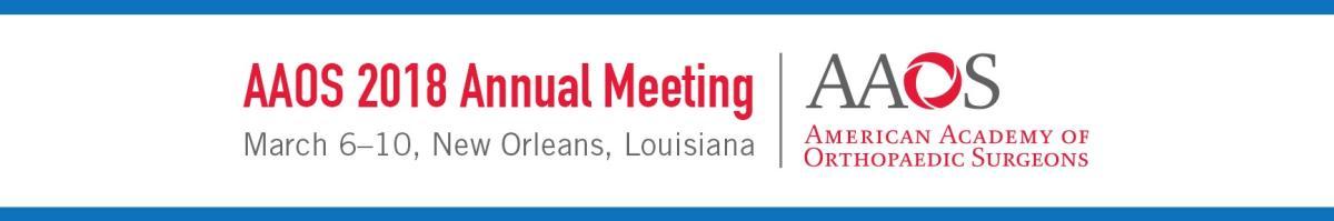 AAOS Annual Meeting logo