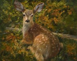 Cecy Turner Painting - Innocent Refuge