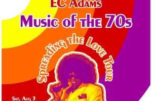 EC Adams - Music of the 70's - Cover Photo
