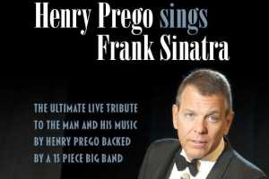 Henry Prego sings Frank Sinatra - Cover Photo