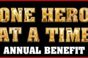 One Hero At A Time - Annual Benefit - Cover Photo