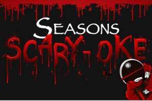 Seasons Scary-oke with the Blake Mason Band - Cover Photo