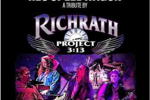 The Music of REO Speedwagon by Richrath Project 3:13 - Cover Photo