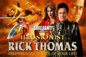 Rick Thomas - Illusionist - Cover Photo