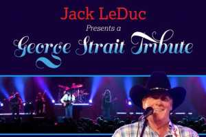 Tribute to George Strait by Jack LeDuc - Cover Photo