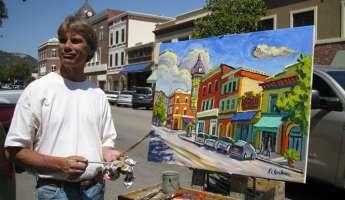 Ken Christensen: Plein Air Painting Indoors