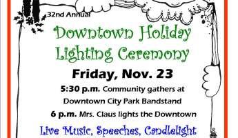 Downtown Lighting Ceremony