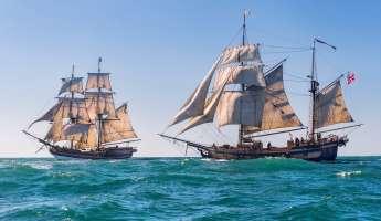 Tall Ships Visit Morro Bay