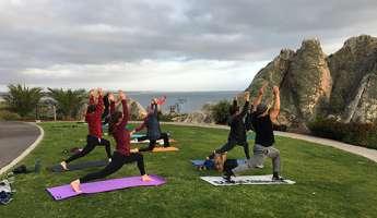 Thanksgiving Day Oceanfront Yoga