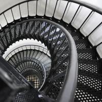 bodie lighthouse - stairs