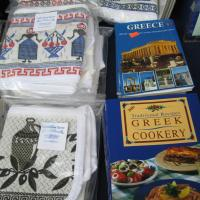 Greek linens- Headwaters Park at Ft Wayne IN
