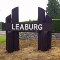 Leaburg Oregon Sign
