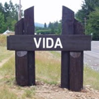 Vida Oregon Sign