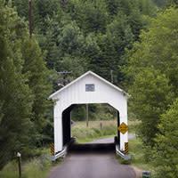 Lake Creek Bridge by Jamie Hooper