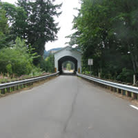 Mosby Creek Bridge by Kelsey Ivey